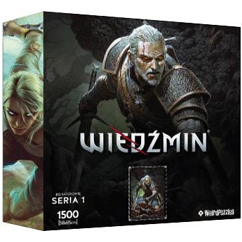 Einfach und sicher online bestellen: The Witcher Puzzle Geralt in Österreich kaufen.
