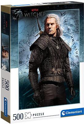 Einfach und sicher online bestellen: The Witcher Puzzle Geralt of Rivia in Österreich kaufen.