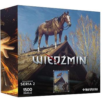 Einfach und sicher online bestellen: The Witcher Puzzle Roach in Österreich kaufen.