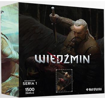 Einfach und sicher online bestellen: The Witcher Puzzle Vesemir in Österreich kaufen.