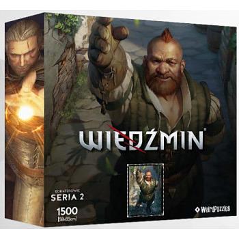 Einfach und sicher online bestellen: The Witcher Puzzle Zoltan in Österreich kaufen.