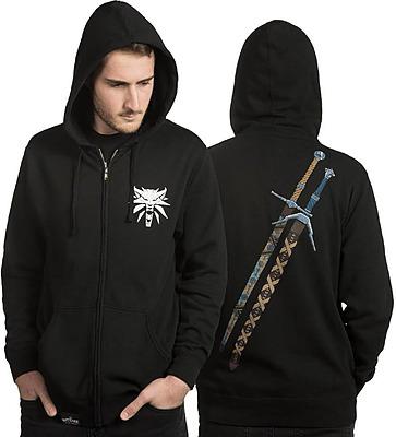 Einfach und sicher online bestellen: The Witcher Kapuzenpullover mit Reißverschluss XL in Österreich kaufen.