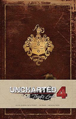 Einfach und sicher online bestellen: Uncharted Notizbuch Logo in Österreich kaufen.