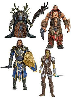 Einfach und sicher online bestellen: Warcraft Actionfiguren Wave 2 (6) in Österreich kaufen.
