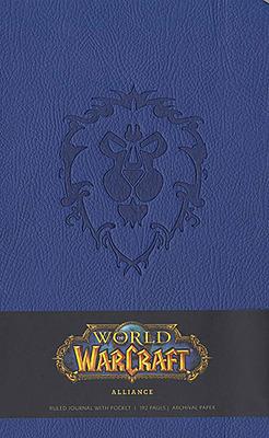 Einfach und sicher online bestellen: World of Warcraft Notizbuch Alliance in Österreich kaufen.