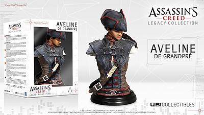 Einfach und sicher online bestellen: Assassins Creed Büste Aveline de Grandpre in Österreich kaufen.