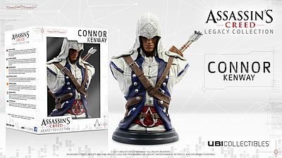 Einfach und sicher online bestellen: Assassins Creed Büste Connor Kenway in Österreich kaufen.