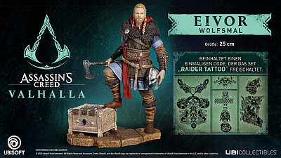 Einfach und sicher online bestellen: Assassins Creed Vallhalla Eivor Wolfsmal in Österreich kaufen.
