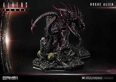 Einfach und sicher online bestellen: Aliens Premium Statue Rogue Alien Battle in Österreich kaufen.
