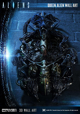 Einfach und sicher online bestellen: Aliens 3D Wand-Relief Queen Alien in Österreich kaufen.