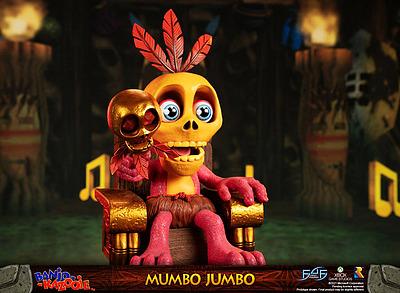 Einfach und sicher online bestellen: Banjo-Kazooie Statue Mumbo Jumbo in Österreich kaufen.