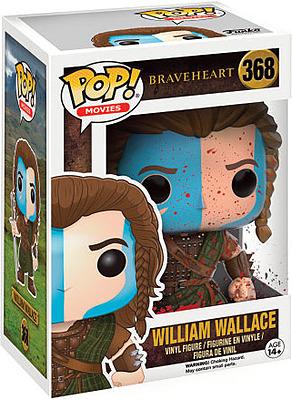 Einfach und sicher online bestellen: Braveheart POP! Vinyl Figur William Wallace Bloody in Österreich kaufen.