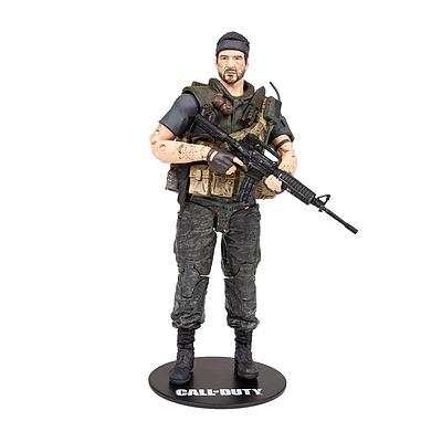 Einfach und sicher online bestellen: Call of Duty Actionfigur Frank Woods in Österreich kaufen.