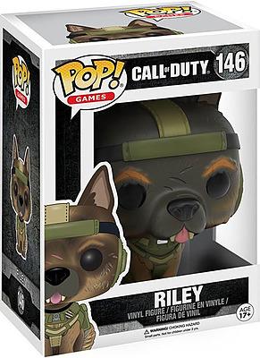 Einfach und sicher online bestellen: Call of Duty POP! Vinyl Figur Riley in Österreich kaufen.