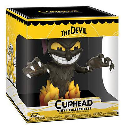 Einfach und sicher online bestellen: Cuphead Vinyl Figur The Devil in Österreich kaufen.