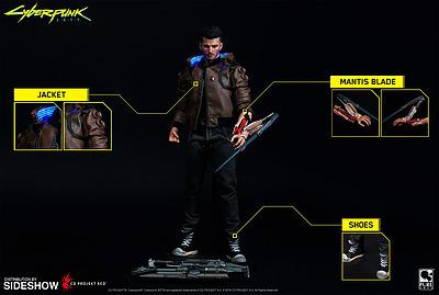 Einfach und sicher online bestellen: Cyberpunk 2077 Actionfigur Male V 30cm in Österreich kaufen.