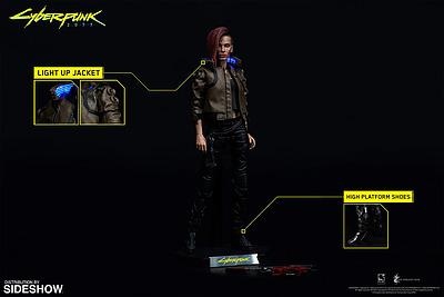 Einfach und sicher online bestellen: Cyberpunk 2077 Actionfigur V Female in Österreich kaufen.