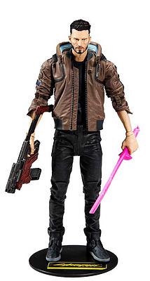 Einfach und sicher online bestellen: Cyberpunk 2077 Actionfigur V Male in Österreich kaufen.