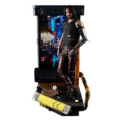 Einfach und sicher online bestellen: Cyberpunk 2077 Statue Jonny Silverhand in Österreich kaufen.