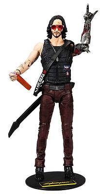 Einfach und sicher online bestellen: Cyberpunk 2077 Actionfigur Johnny in Österreich kaufen.
