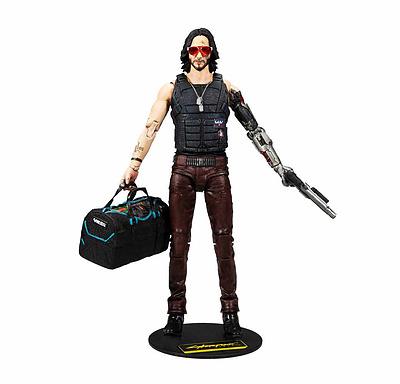 Einfach und sicher online bestellen: Cyberpunk 2077 Actionfigur Johnny Exclusive in Österreich kaufen.
