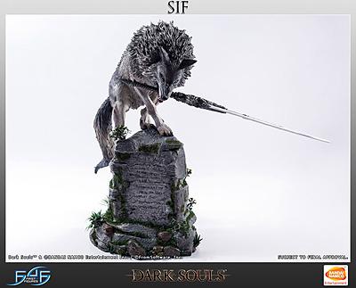 Einfach und sicher online bestellen: Dark Souls Statue Großer Grauer Wolf Sif in Österreich kaufen.