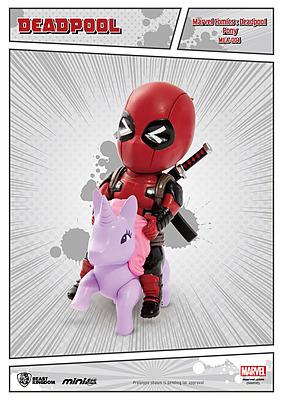 Einfach und sicher online bestellen: Mini Egg Figur Deadpool Pony in Österreich kaufen.