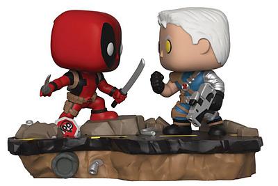 Einfach und sicher online bestellen: POP! Movie Moments Deadpool vs. Cable in Österreich kaufen.