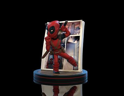 Einfach und sicher online bestellen: Marvel Diorama Deadpool 4D in Österreich kaufen.