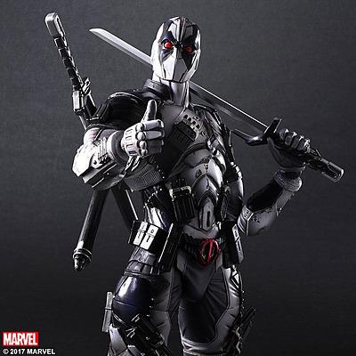 Einfach und sicher online bestellen: Play Arts Kai Actionfigur Deadpool X-Force in Österreich kaufen.