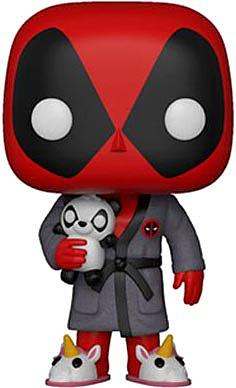 Einfach und sicher online bestellen: Deadpool Parody POP! Marvel Deadpool in Robe in Österreich kaufen.