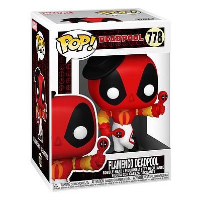 Einfach und sicher online bestellen: Marvel Deadpool 30th Anniversary POP! Flamenco in Österreich kaufen.