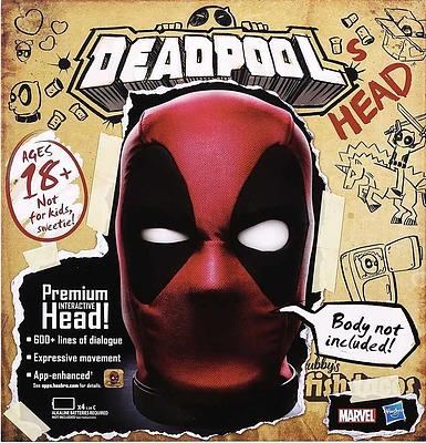 Einfach und sicher online bestellen: Deadpool Interaktiver Premium Kopf in Österreich kaufen.