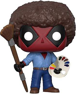 Einfach und sicher online bestellen: Deadpool Parody POP! Marvel Deadpool Bob Ross in Österreich kaufen.