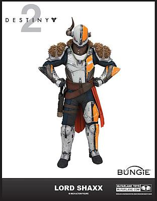 Einfach und sicher online bestellen: Destiny 2 Actionfigur Lord Shaxx in Österreich kaufen.