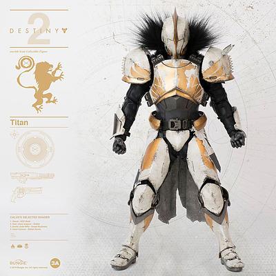 Einfach und sicher online bestellen: Destiny 2 Actionfigur 1/6 Titan Calus's Shader in Österreich kaufen.