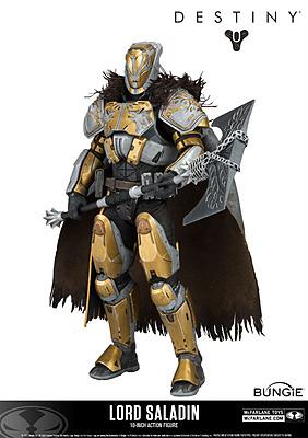 Einfach und sicher online bestellen: Destiny Color Tops Actionfigur Lord Saladin in Österreich kaufen.