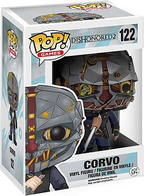 Einfach und sicher online bestellen: Dishonored 2 Corvo POP! Games Vinyl Figur in Österreich kaufen.