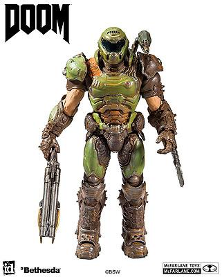 Einfach und sicher online bestellen: DOOM Eternal Actionfigur Doom Slayer in Österreich kaufen.