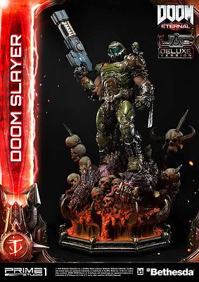 Einfach und sicher online bestellen: DOOM Eternal Statue Doom Slayer Deluxe Version in Österreich kaufen.