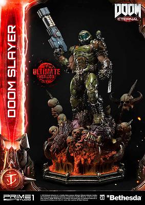 Einfach und sicher online bestellen: DOOM Eternal Statue Doom Slayer Ultimate Version in Österreich kaufen.