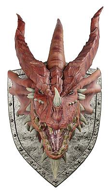 Einfach und sicher online bestellen: Dungeons & Dragons Wandtrophäe Red Dragon in Österreich kaufen.
