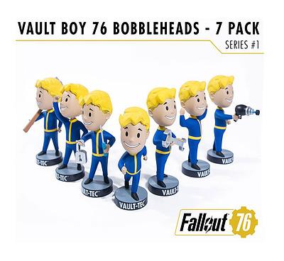 Einfach und sicher online bestellen: Fallout 76 Wackelkopf-Figuren Vault Boys Serie 1 in Österreich kaufen.