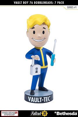 Einfach und sicher online bestellen: Fallout 76 Wackelkopf-Figur Vault Boy Lock Pick in Österreich kaufen.
