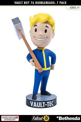 Einfach und sicher online bestellen: Fallout 76 Wackelkopf-Figur Vault Boy Melee Weapon in Österreich kaufen.