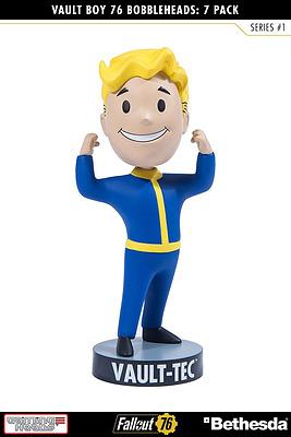 Einfach und sicher online bestellen: Fallout 76 Wackelkopf-Figur Vault Boy Strength in Österreich kaufen.