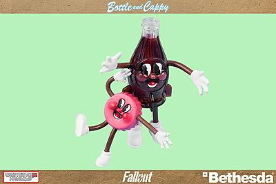 Einfach und sicher online bestellen: Fallout Biegefiguren Bottle & Cappy in Österreich kaufen.