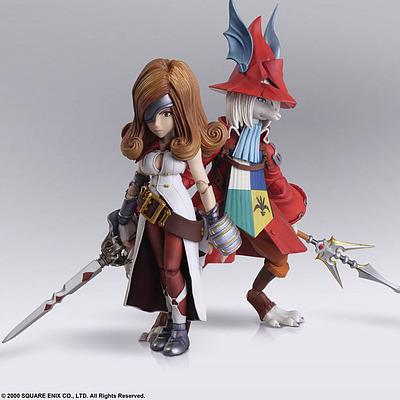 Einfach und sicher online bestellen: Final Fantasy IX Actionfiguren Freya & Beatrix in Österreich kaufen.