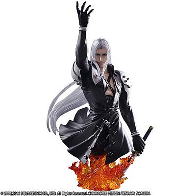 Einfach und sicher online bestellen: Final Fantasy 7 Static Arts Büste Sephiroth in Österreich kaufen.