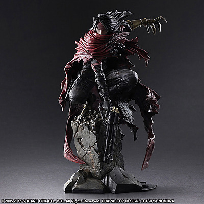 Einfach und sicher online bestellen: Final Fantasy VII Statue Vincent Valentine in Österreich kaufen.